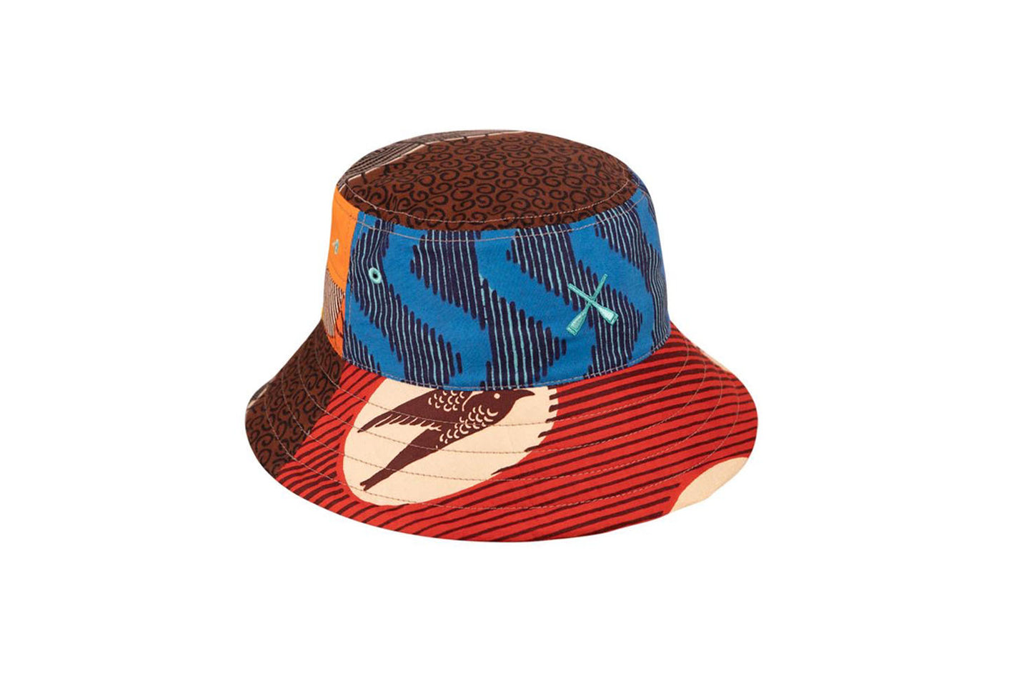 BUCKET HAT WAX PATCHWORK