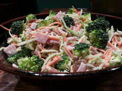 Ham & Raisin Broccoli Slaw