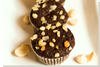 Chocolate Ginger Macadamia Nut Muffins