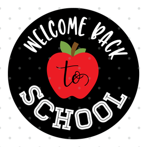 Back To School Apple SVG File