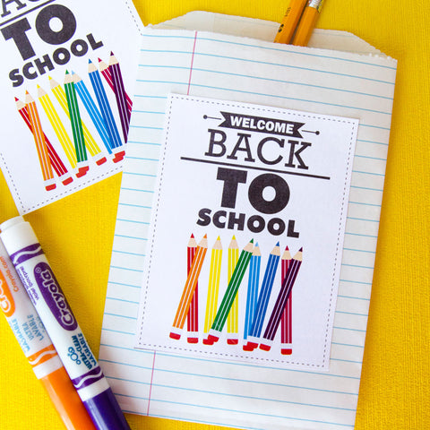 Welcome Back To School Tag