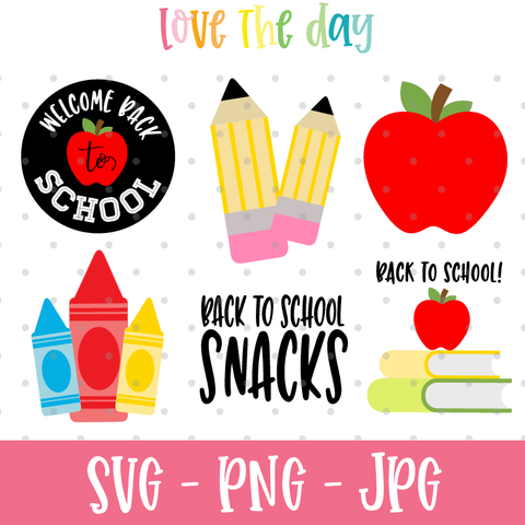 Back To School SVG Collection