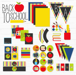 Back To School Printable Party