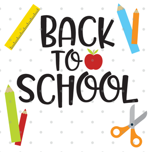 Back To School SVG File