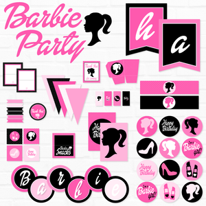 Barbie Printable Party Collection by Love The Day