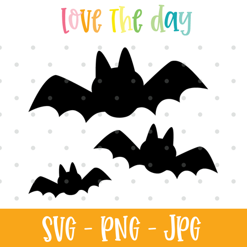 Bat SVG File for Cutting