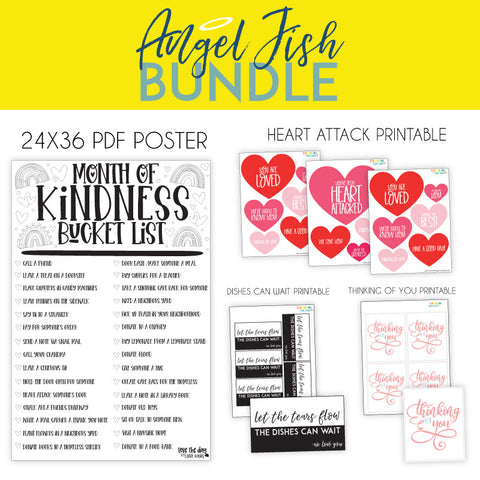 The Angel Fish Digital Bundle