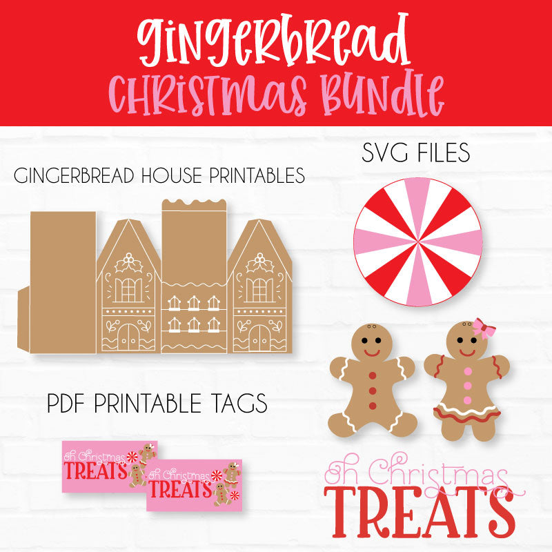Gingerbread Svg Cut File Printable Collection Love The Day Printable Library