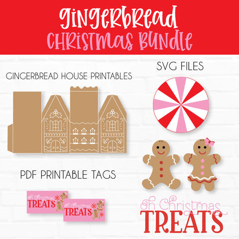 Gingerbread SVG Cut File & Printable Collection