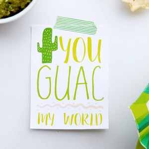 Guac My World Gift Tags