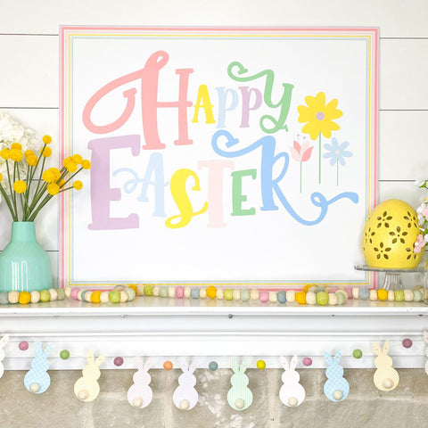 Happy Easter Poster Printable