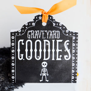 Graveyard Goodies Gift Tags