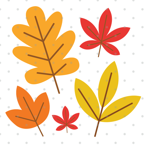 Fall Leaves SVG Cut Files