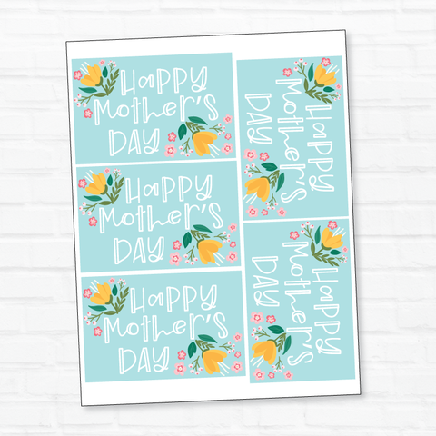 Mother's Day PRINTABLE Gift Tags