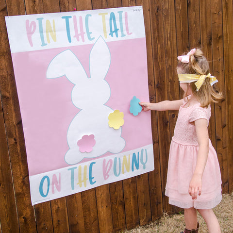Pin The Tail On The Bunny Party Game