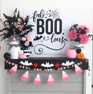 Printable Halloween Poster or Backdrop
