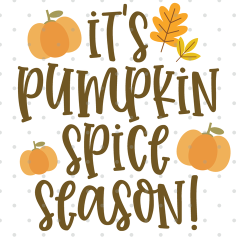 Pumpkin Spice SVG Cut File