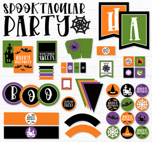 Spooktacular Halloween Party Printable