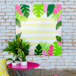 Luau Printable Backdrop
