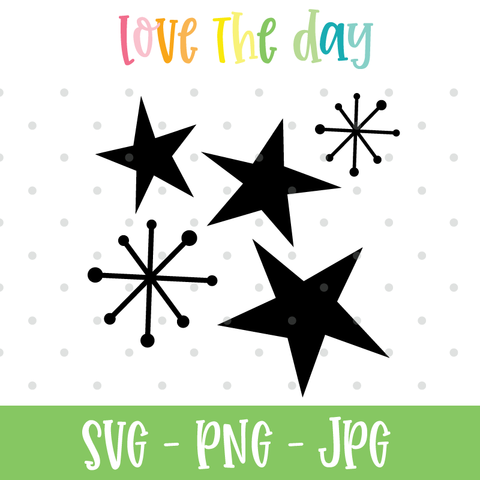 Wonky Halloween Star SVG Files