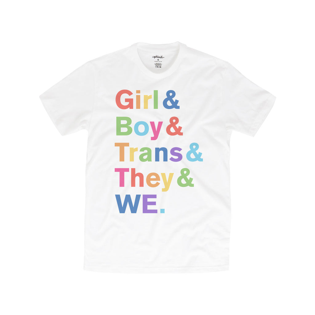 TPP: PRESALE - Rainbow Inclusive Tee