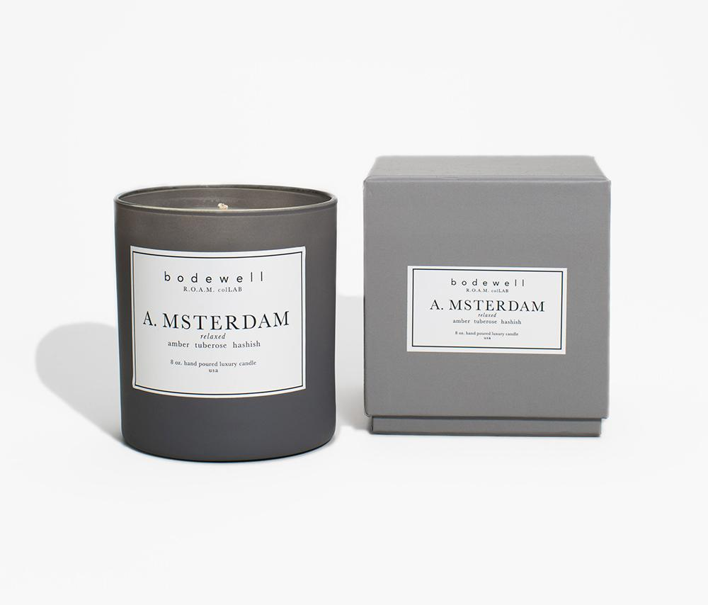 Bodewell Living: AMSTERDAM Candle