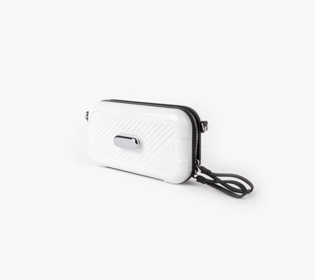FFORA: White Nickel Active Bag