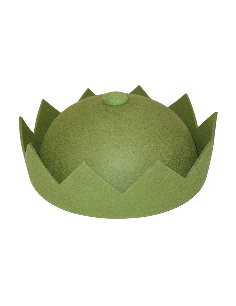 Olive Green Crown Hat