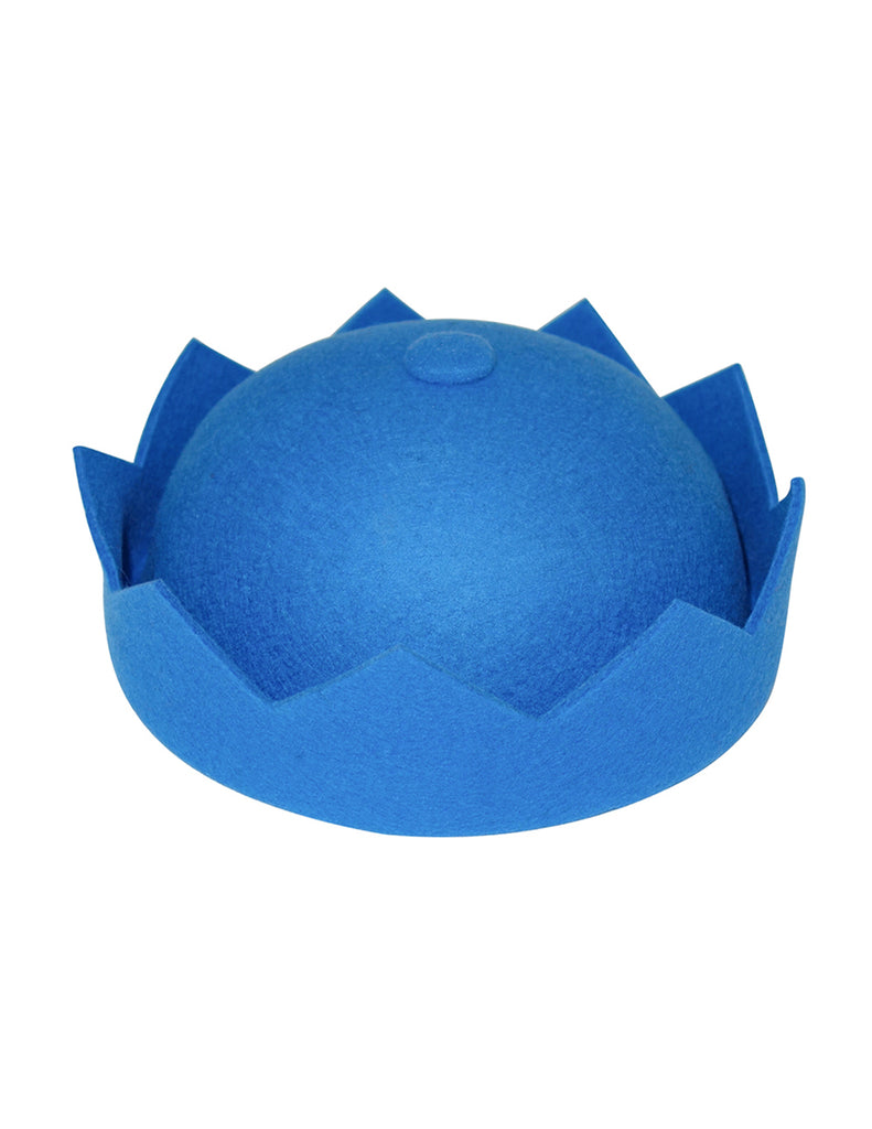 Royal Blue Crown Hat