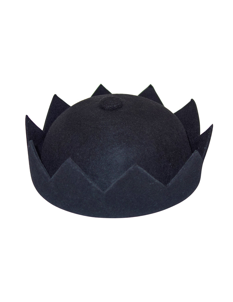Black Crown Hat