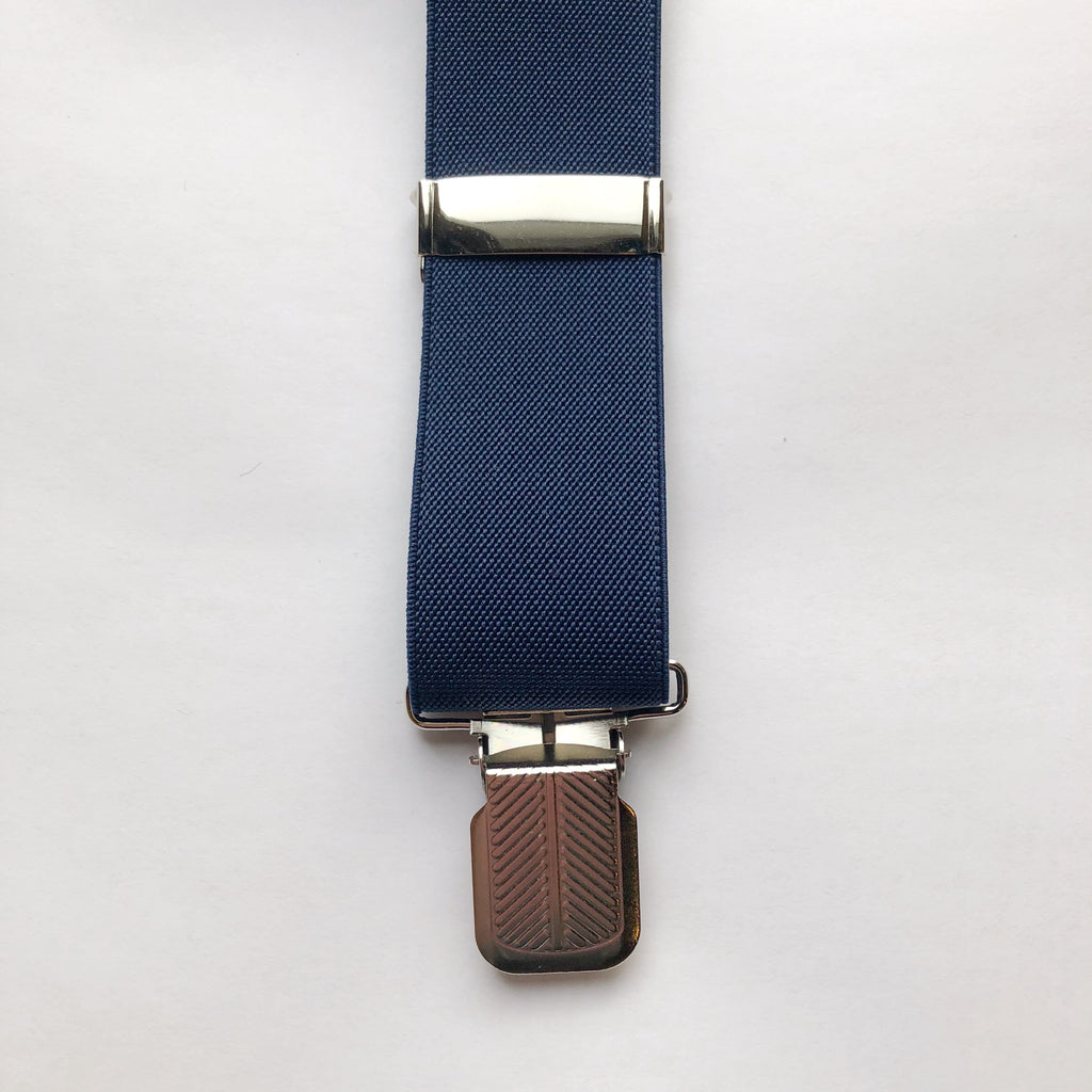 Better Than Belts: Solid Clip Suspenders
