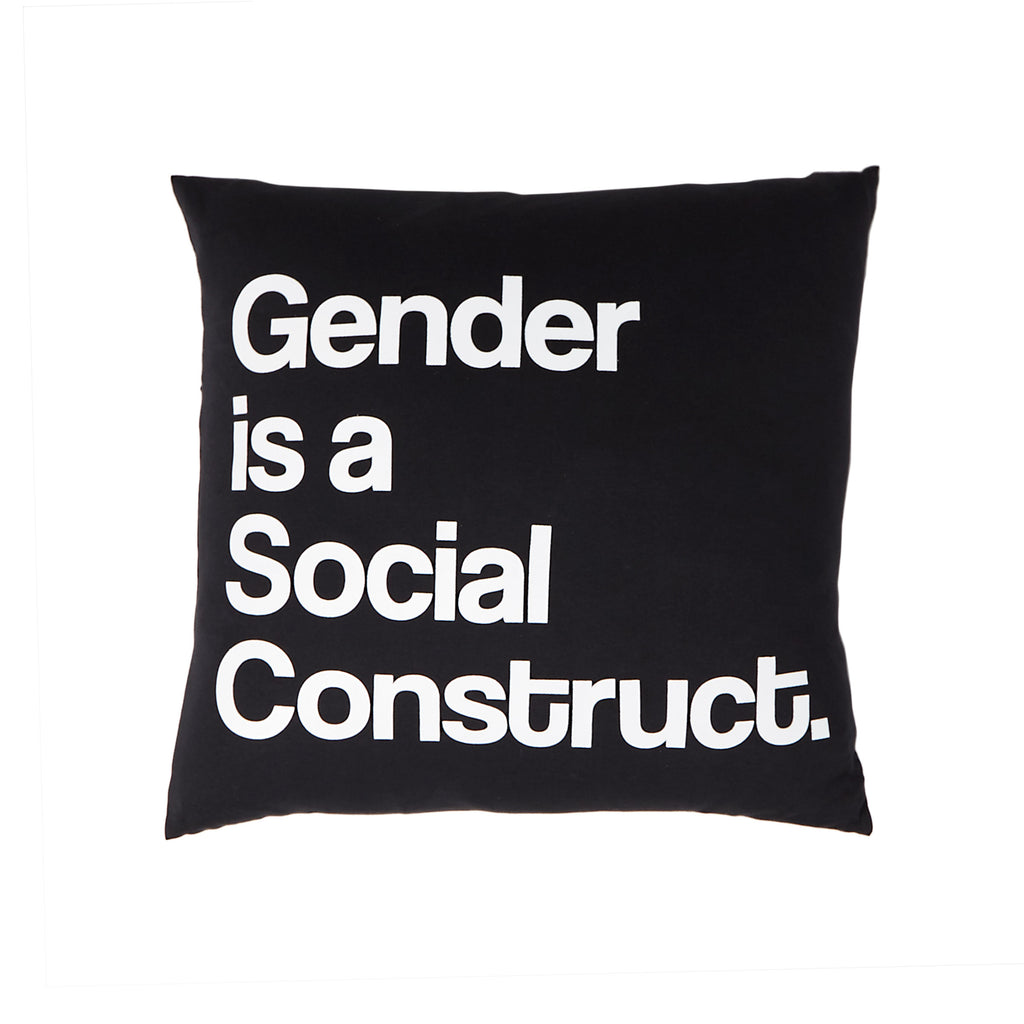 TPP: Gender is a Social Construct Pillow