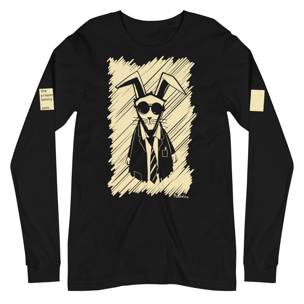 The Proper Bunny: The Proper Bunny Long Sleeve Graphic Tee
