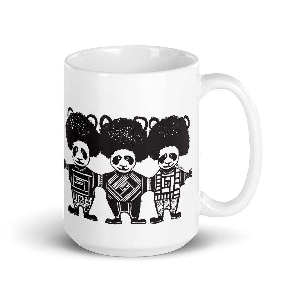 The Proper Bunny: Triple Afropanda Mug