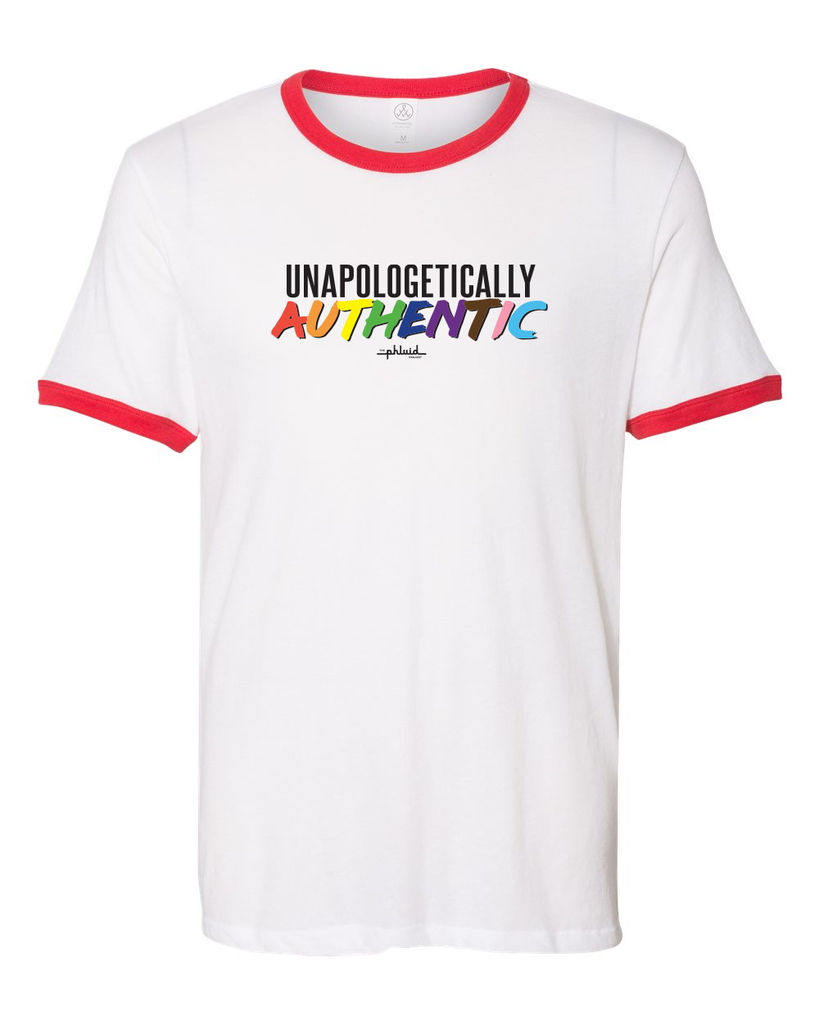 TPP: PRESALE Unapologetically Authentic Ringer Tee