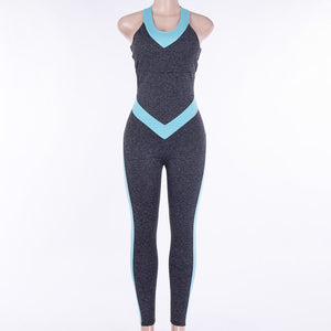 Dry Fit Yoga ,Workout Jumpsuit