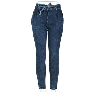 High Waist Femme Pencil Pants Skinny Jeans