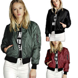 Fashionable Bomber Thin Windbreaker Jacket