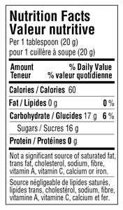 Cocoa Honey Nutritional Info