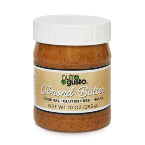 NutroGusto Natural Almond Butter 283g