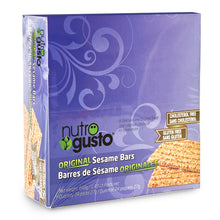 Load image into Gallery viewer, NutroGusto Original Sesame Bars 27g x 24