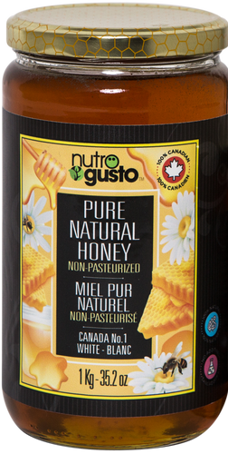 1kg Pure Natural Honey Nutro Gusto