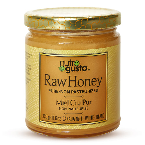 NutroGusto Raw Honey 330g