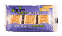 Load image into Gallery viewer, NutroGusto Sesame Bars 3 Pack