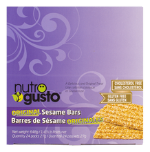 Load image into Gallery viewer, Nutro Gusto 27g Sesame Bars