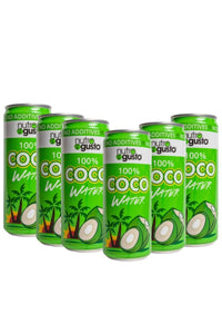 NutroGusto Coconut Water 330ml - 6 Pack
