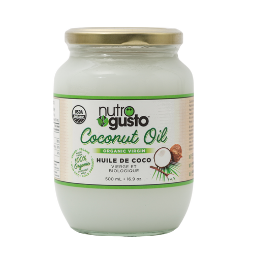 NutroGusto Organic Coconut Oil 500ml