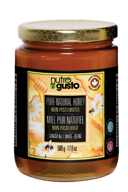 NutroGusto Pure Natural Honey