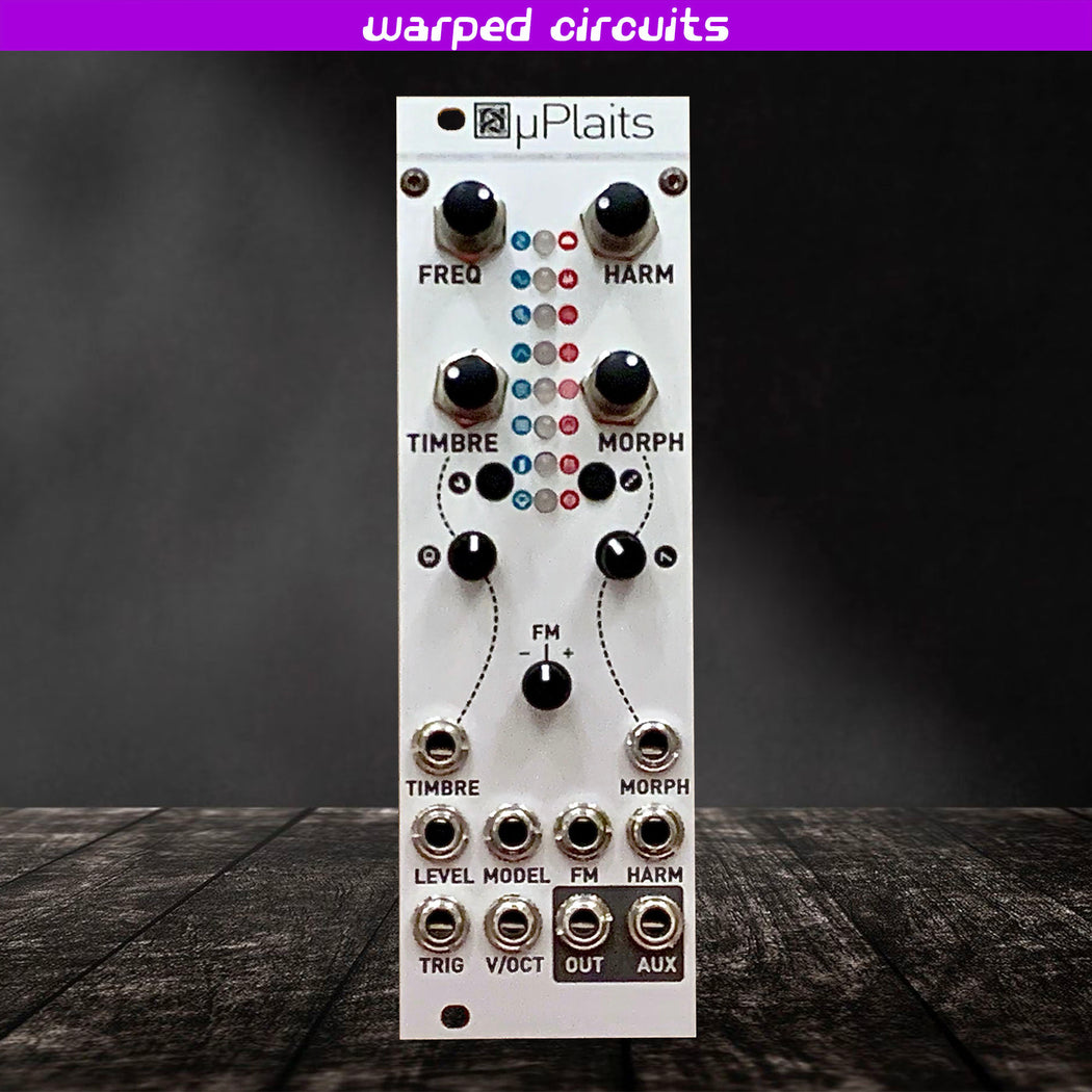 uPlaits (Mutable Instruments Plaits in 8hp Eurorack) Beehive Aluminum