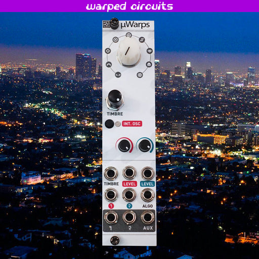 uWarps (Twists) 6hp Mutable Instruments Warps Clone